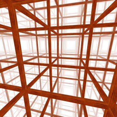 Cubic honeycomb - PD