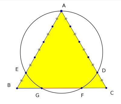 Dao Equilateral Triangle Golden ratio