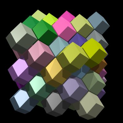 Rhombic dodecahedra - AndrewKepert